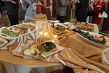 Wikimania 2012 - Rock drum - Google Reception 3.JPG