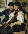 Wilhelm Leibl - Das ungleiche Paar (1876-77).jpg