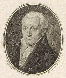 Willem van Senus, Portret van Johan Meerman (1817)