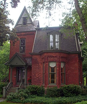 National Register of Historic Places listings in Orleans County, New York - Image: William Barlow House, Albion, NY