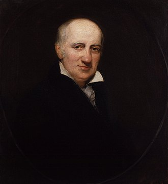 Anarchist schools of thought - William Godwin (1756–1836), liberal, utilitarian and individualist philosopher thought of as the founder of philosophical anarchism, in a portrait by Henry William Pickersgill
