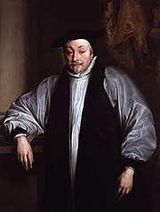 William Laud, Charles I's Archbishop of Canterbury.