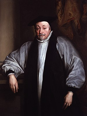 History of the Puritans under King Charles I - William Laud (1573–1645), Bishop of St David's (1622–1626), Bishop of Bath and Wells (1626–1633), and Archbishop of Canterbury (1633–1645). Laud was one of King Charles's closest advisors, and the architect of the Laudian church policies which were deeply distasteful to the Puritans.
