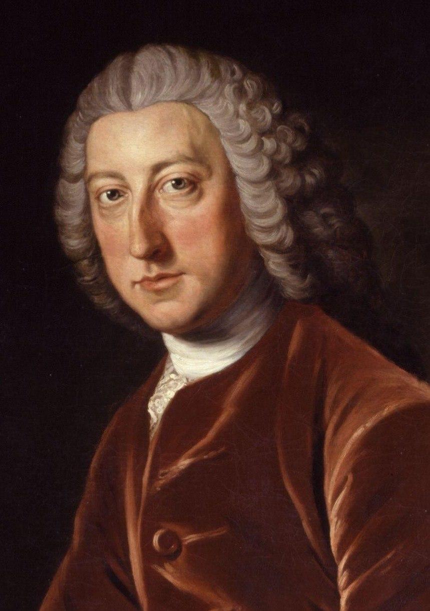 William Pitt the Elder by William Hoare crop