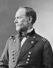 Portrait of William Tecumseh Sherman by Mathew Brady