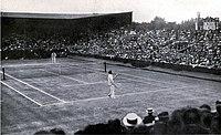 Wimbledon finals 1913, wilding vs mcloughlin.jpg