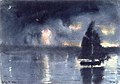 Winslow Homer - Sailboat and Fourth of July Fireworks.jpg