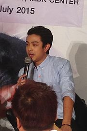 Witawat Singlampong at press conference of LOVE LOVE YOU.JPG
