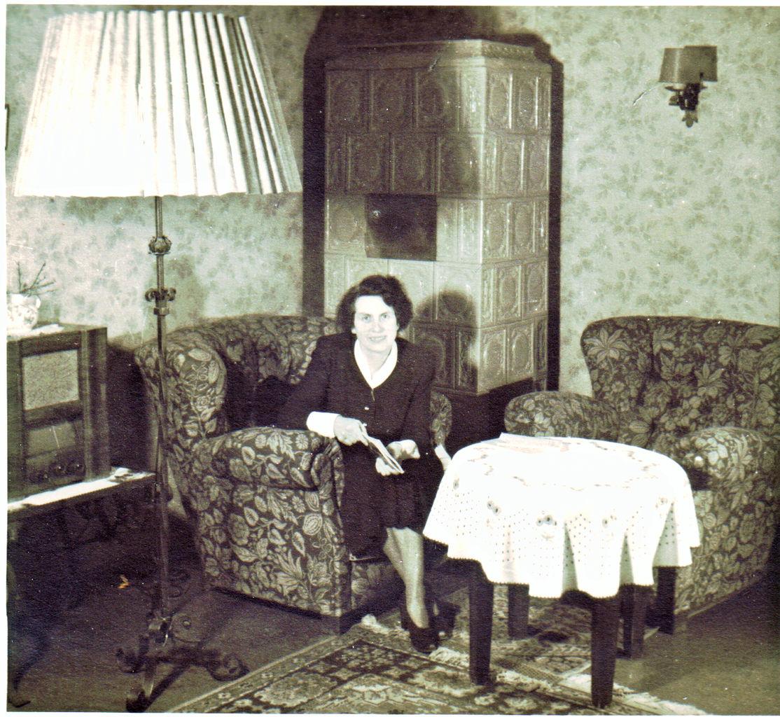 FileWohnzimmer Berlin Um 1950