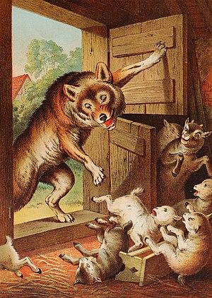 El lobo y las siete cabritillas  Wikiwand