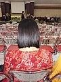 Woman with bob haircut, rear view (20 January 2019).jpg