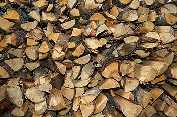 English: Pile of woods.