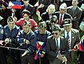 World War II Filipino-American veterans White House May 2003.jpg
