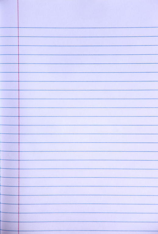 FileWrite Your Story Blank Lined Notebook Paper Creative Commons – Notebook Paper