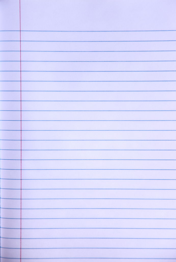 file write your story blank lined notebook paper creative commons