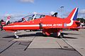 XX245 BAe Hawk T.1 Royal Air Force ( Red Arrow ) (8577334005).jpg