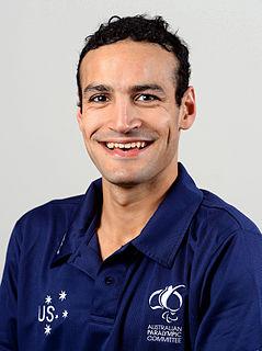 Ahmed Kelly Australian male swimming Paralympian