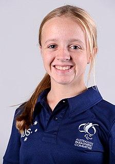 Tiffany Thomas Kane Australian Paralympic swimmer