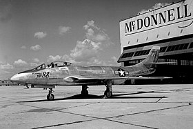 Image illustrative de l'article McDonnell XF-88 Voodoo