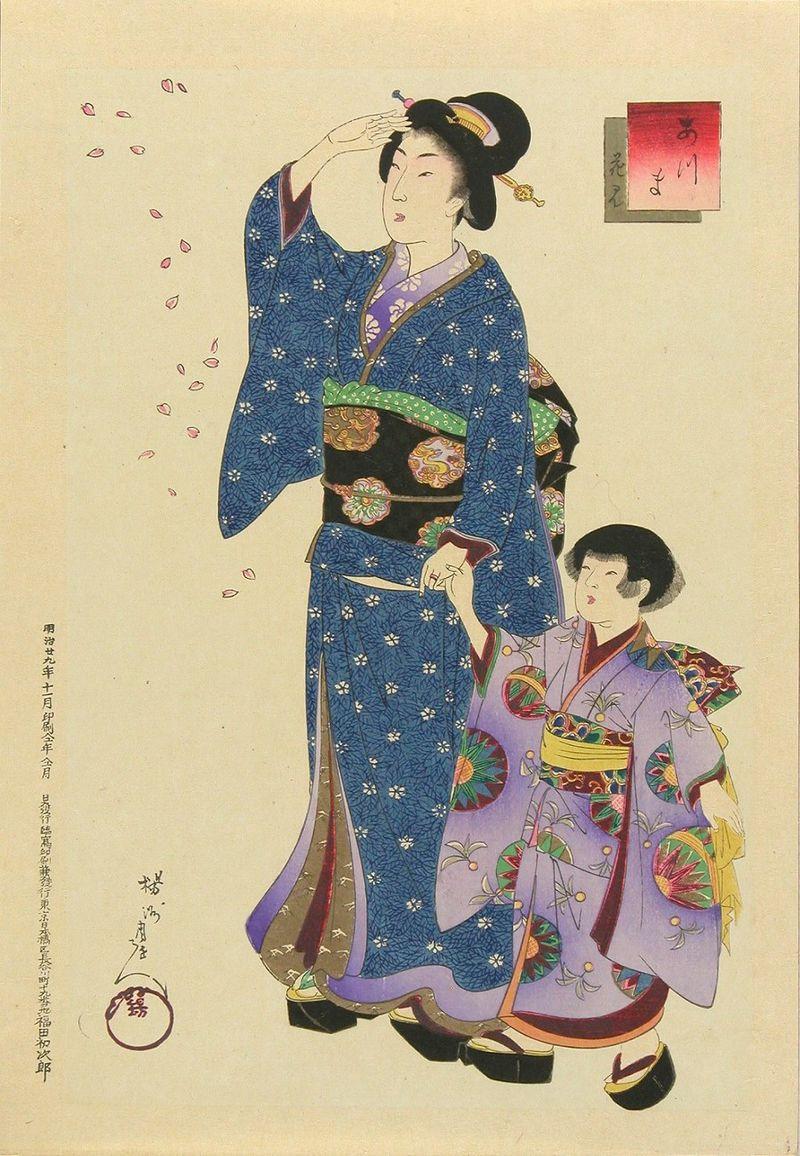 Yōshū Chikanobu Azuma Hanami.jpg