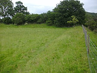 Y Gaer - Remains of the Roman fort