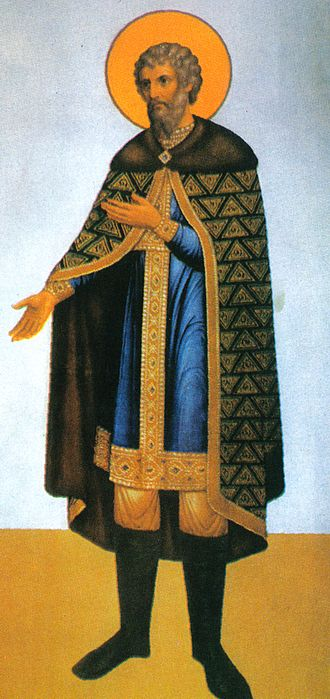 Yaroslav the Wise - Depiction of Yaroslav the Wise from Granovitaya Palata.