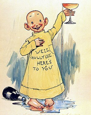 Alfred E. Neuman - The Yellow Kid, 1897.
