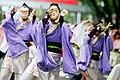 Yosakoi Performers at Super Yosakoi 2005 22.jpg
