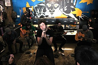 You Me at Six - You Me at Six playing an acoustic show in 2012