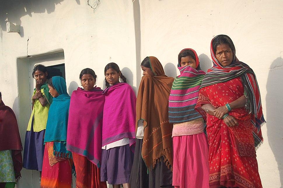 Young Indian women, Chhattisgarh, 2005