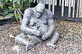 ZSL London - Female gorilla and offspring sculpture (01).jpg