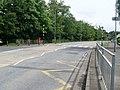 Zebra crossing at entrance to Eastwood High School - geograph.org.uk - 1420251.jpg
