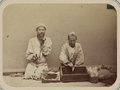Zeravshan District. City of Samarkand and the Types of People Seen in Its Streets. Selling Snuff WDL11143.png