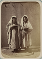 Zeravshan Okrug. Samarkand. Two Jewish Men, Wearing Prayer Shawls, Reading Psalms WDL11133.png