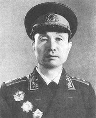 Commander of the People's Liberation Army Navy - Image: Zhang Aiping