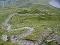Zig-zag path, down to Llyn Idwal - geograph.org.uk - 1411693.jpg