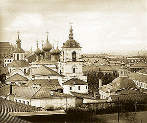 The Chrysostom Monastery in Moscow (1882).