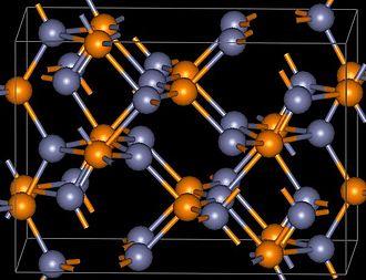 Zinc phosphide - Image: Zn 3P2structure