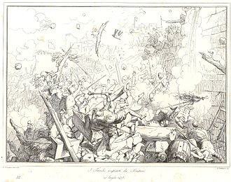 "Siege of Shkodra - Image: ""I Turchi respinti da Scutari"" Gatteri's Etching of the Siege of Shkodra"