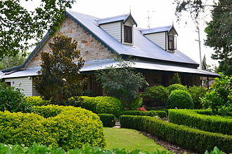 Glenbrook, New South Wales - Image: (1)Ilford House Wascoe Street Glenbrook 1