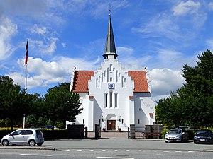 Aabyhøj - Image: Åbyhøj Kirke (front)