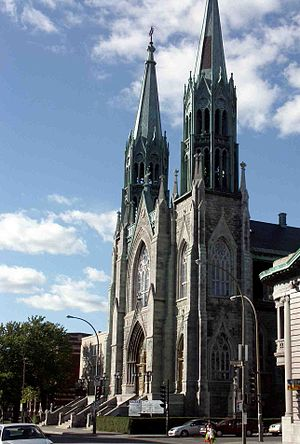 Rosemont–La Petite-Patrie - Église Saint-Édouard