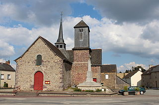Saint-Maugan Commune in Brittany, France