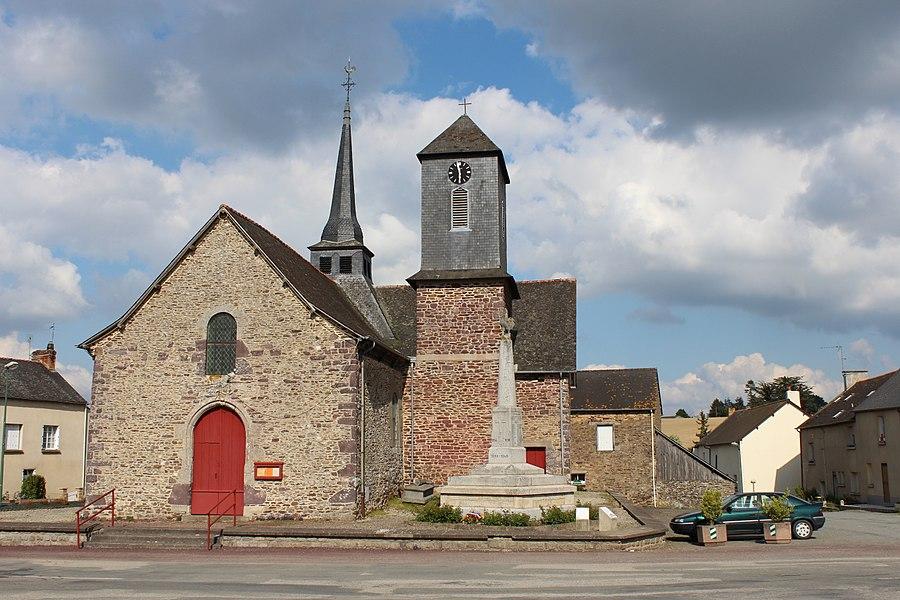 Église de Saint-Maugan.