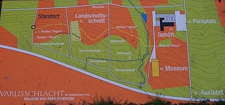 Varusschlacht Karte.Varusschlacht Wikiwand