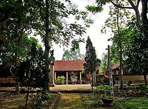 Ngô Quyền - Image: Đền thờ Ngô Quyền