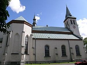 Łańcut - Image: Łańcut kościół farny (2)