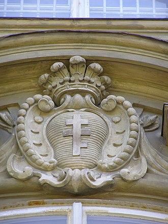 Piława coat of arms - Image: Łańcut zamek Pilawa