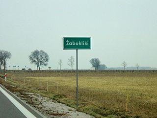 Żabokliki, Węgrów County Village in Masovian, Poland