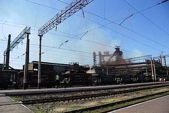 Alchevsk - Alchevsk Iron and Steel Works
